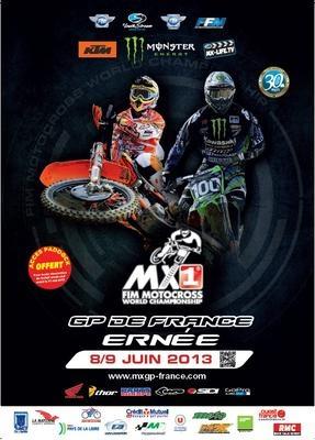 Grand Prix de France, Championnat du Monde MX1/MX2