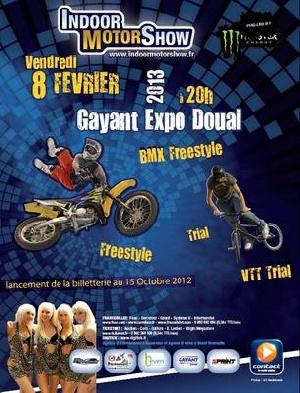 Indoor Motor Show de Douai sur vos écrans