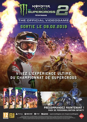 illustration : MONSTER ENERGY SUPERCROSS 2